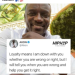 Akon applaud those people that are loyal in their relationship